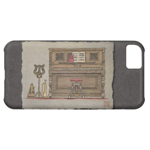 Old Upright Piano iPhone 5C Covers
