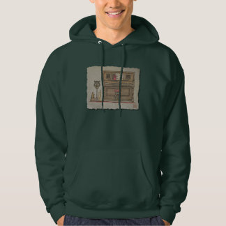 Old Upright Piano Hoodie