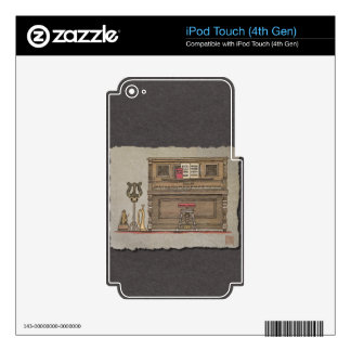 Old Upright Piano Skin For iPod Touch 4G