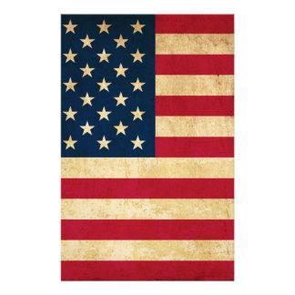 Old USA flag Flyer