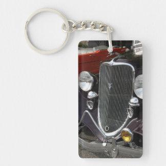 Old V-8 Single-Sided Rectangular Acrylic Keychain