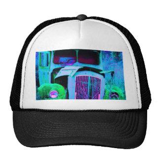 old van blue trucker hat