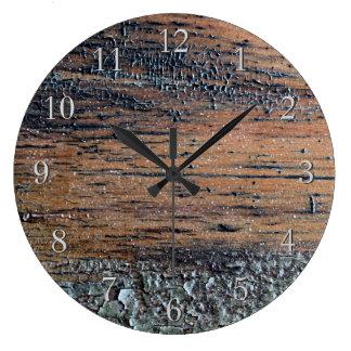 Old Varnished Wood Image. Clocks