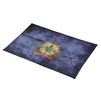 Old Vermont Flag Cloth Placemat