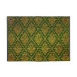 Old Victorian Roses Pattern, green Cases For iPad Mini