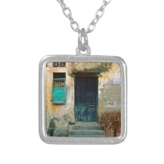 Old Vietnamese embankment Silver Plated Necklace
