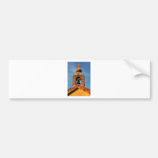Old village church on the island Pag in Croatia Bumper Sticker