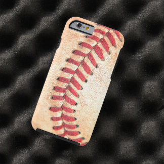 Old Vintage Baseball Ball Red Stitching Tough iPhone 6 Case