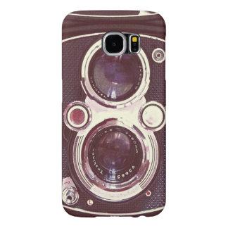 Old vintage camera samsung galaxy s6 case