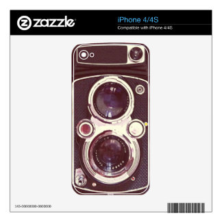 old vintage camera decal for the iPhone 4S
