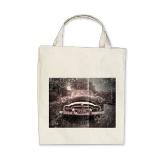 Old Vintage Car Tote Bag
