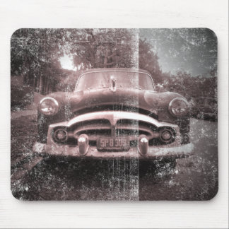 Old Vintage Car Mouse Pad