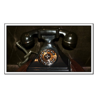 Old Vintage Dial-up Phone Business Card