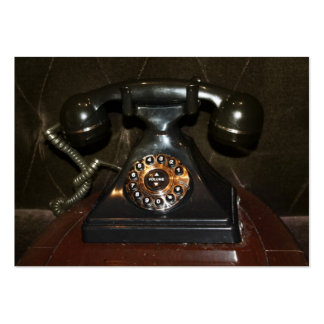 Old Vintage Dial-up Phone Large Business Cards (Pack Of 100)