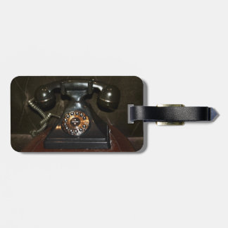 Old Vintage Dial-up Phone Tags For Bags