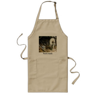 old vintage farm tools of the trade art picture long apron