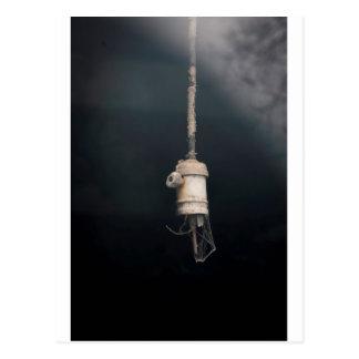 Old Vintage Hanging Lightbulb Electric Postcard