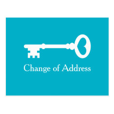 Old Vintage Key Moving Postcards For New Address at Zazzle