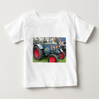 Old vintage Lanz Bulldog tractor farm machinery Baby T-Shirt