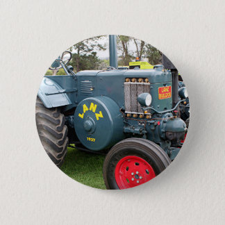 Old vintage Lanz Bulldog tractor farm machinery Button