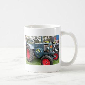 Old vintage Lanz Bulldog tractor farm machinery Coffee Mug