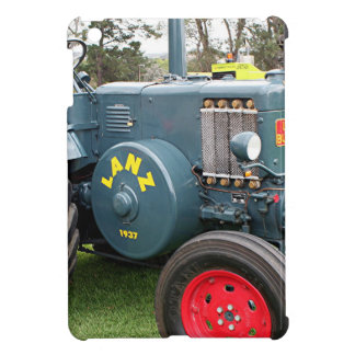 Old vintage Lanz Bulldog tractor farm machinery iPad Mini Covers