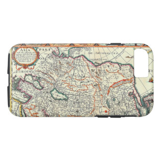 Old Vintage Map of Asia Circa 1626 iPhone 8/7 Case
