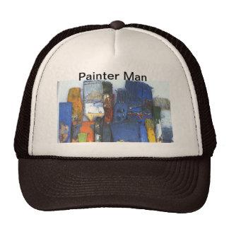 Old Vintage paint brushes Hat