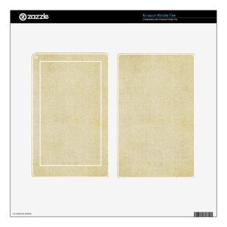Old Vintage Paper Background Skins For Kindle Fire
