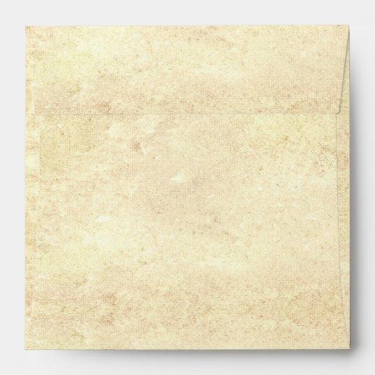 old vintage paper envelopes design for RSVP