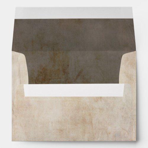 Old Vintage Paper - Parchment Texture Envelope