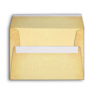 Old Vintage Paper Rustic Wedding Envelope