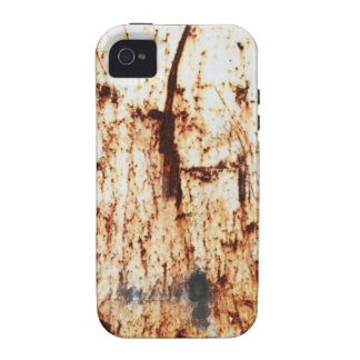 old vintage paper rusty brown art burn smoke Abstr iPhone 4 Covers