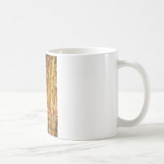 old vintage paper rusty brown art burn smoke Abstr Coffee Mug