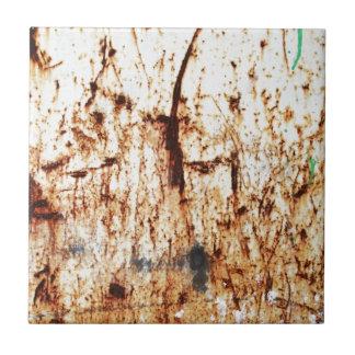 old vintage paper rusty brown art burn smoke Abstr Tile
