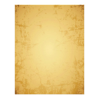 Old Vintage Parchment Look Paper Letterhead