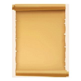 Old Vintage Parchment Paper Letterhead
