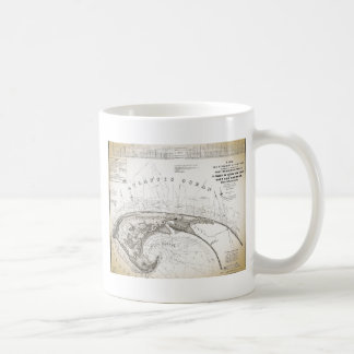 Old Vintage Provincetown Cape Cod Map Coffee Mug