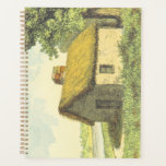 [ Thumbnail: Old, Vintage, Rustic Cottage With a Thatched Roof Planner ]
