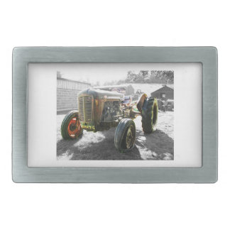 Old Vintage Tractor farm machinery belt buckle