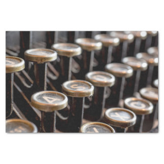 Old Vintage Typewriter Keys 10lb Tissue Paper