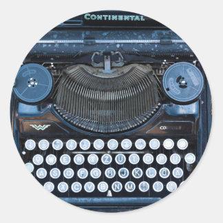 Old Vintage Typewriter Multi-Purpose Sticker