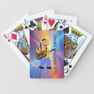 Old Virginia Smoke playing cards