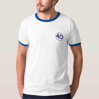 Old Volleyball Players Never Die 40 T-Shirt