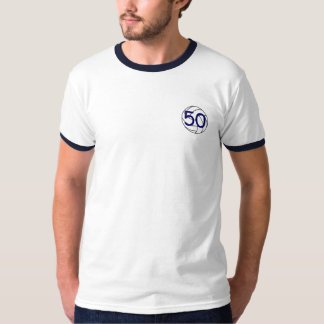 Old Volleyball Players Never Die 50 T-Shirt