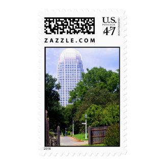 Old Wachovia Meet New Wachovia Postage Stamp