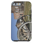 Old wagon and store fronts in Bodie State iPhone 6 Case