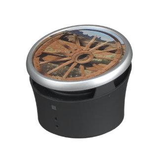 Old Wagon Wheel Bumpster Speaker