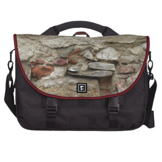 Old Wall, Florence, Italy Laptop Commuter Bag