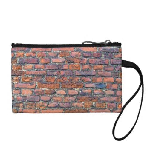 Old Wall Texture Of Bricks Coin Wallets